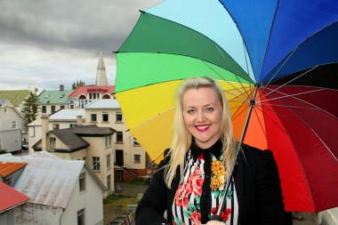 Eva María Þórarinsdóttir Lange, formaður Hinsegin daga