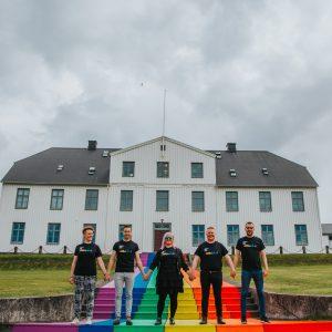 Stjórn Hinsegin daga við MR 2016