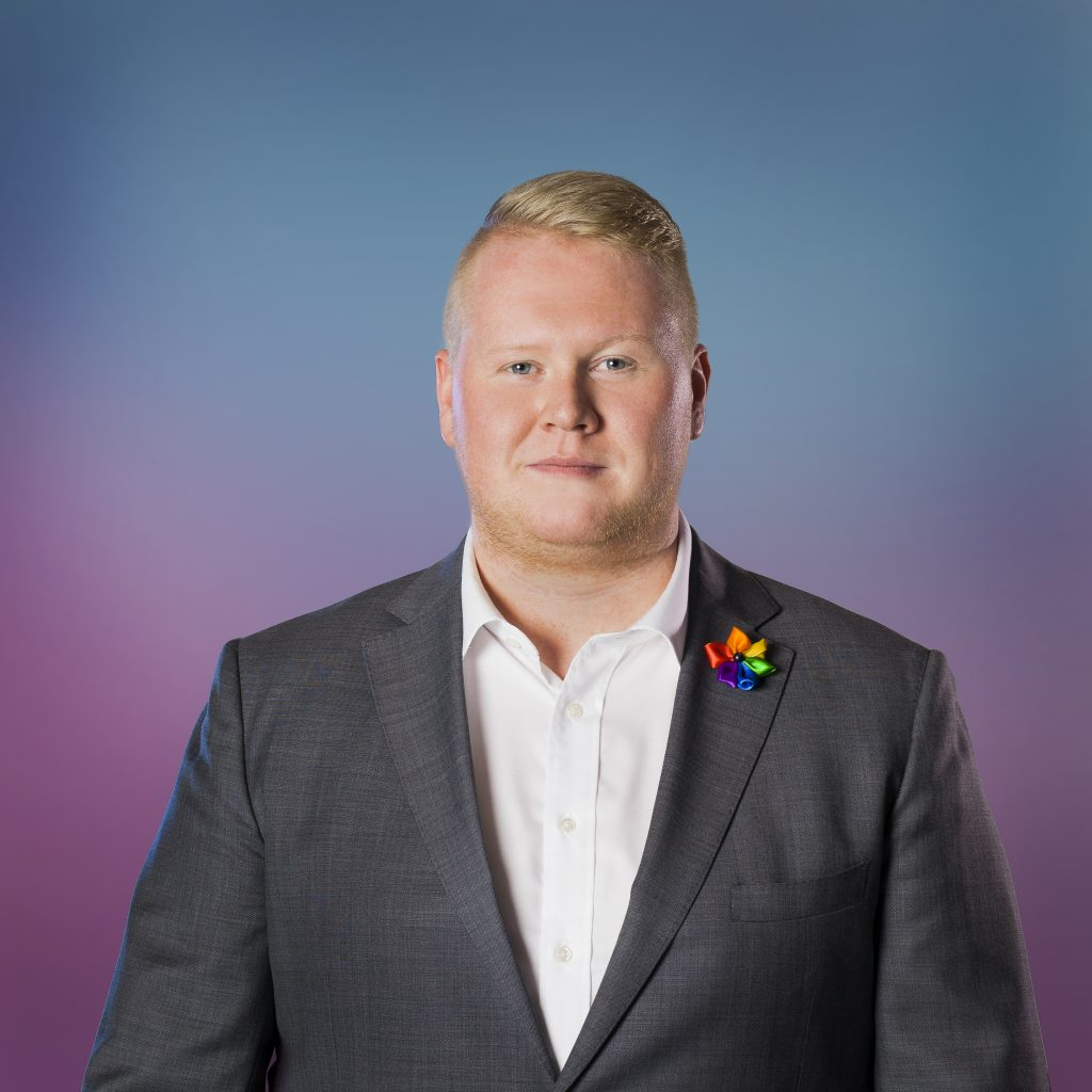 Gunnlaugur Bragi, formaður Hinsegin daga