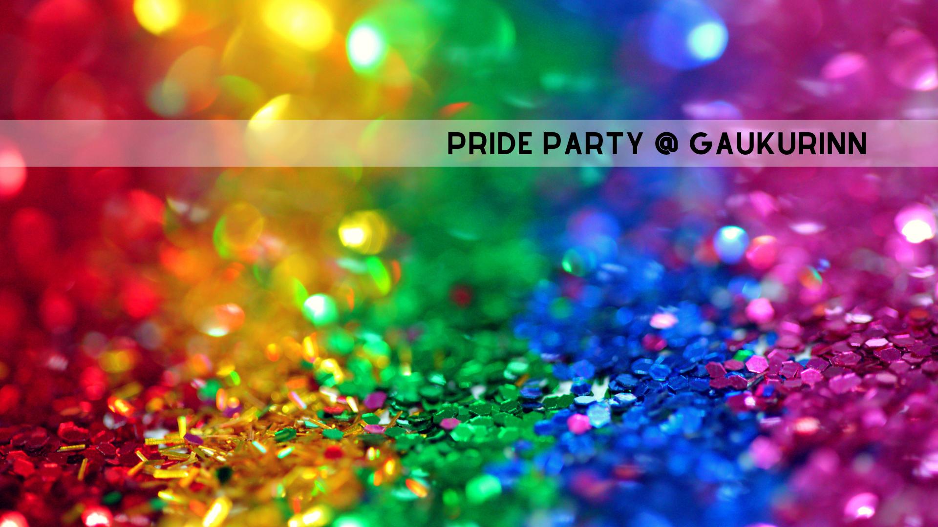 Pride Party at Gaukurinn