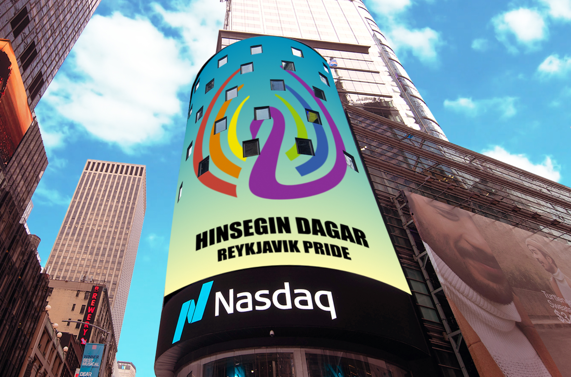 Nasdaq í samstarf við Hinsegin daga 2020