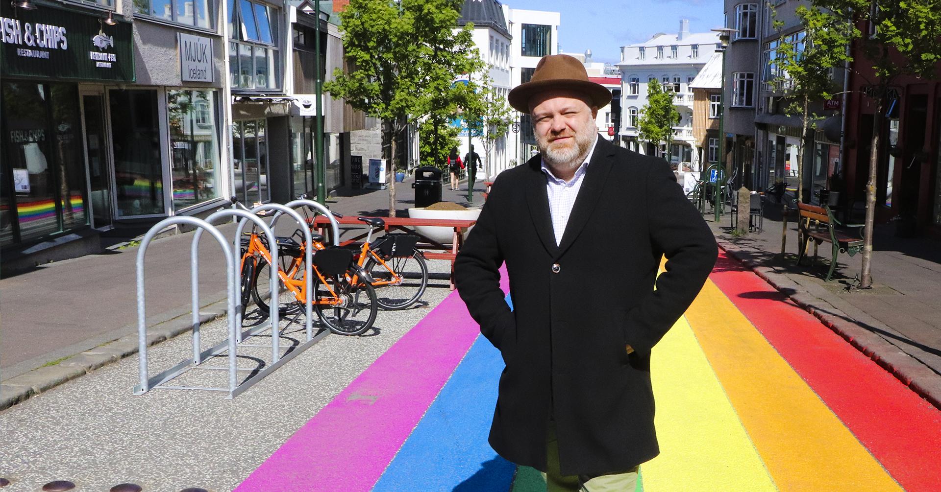Evening Walk – Queer in Reykjavik