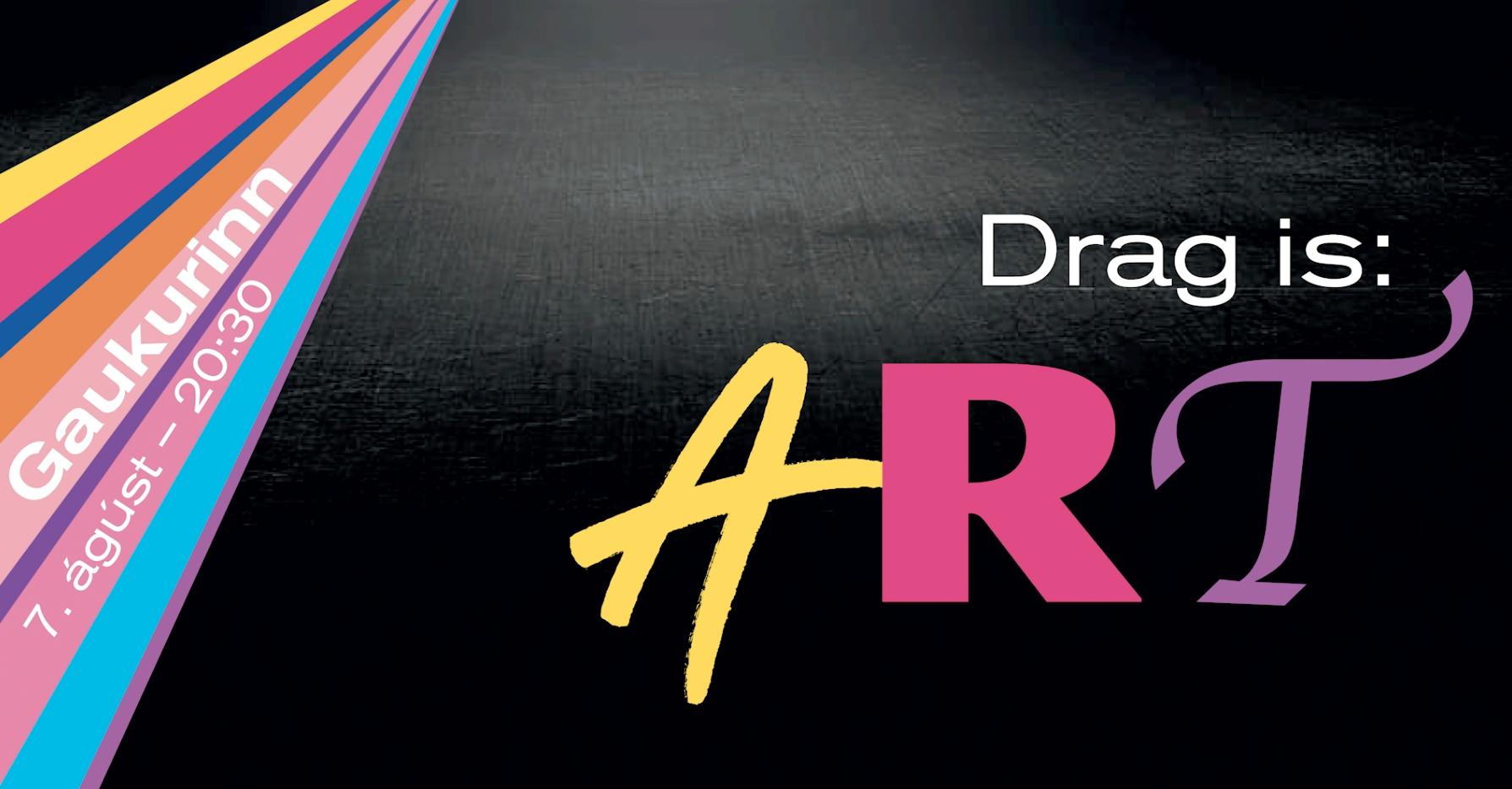 Drag is ART