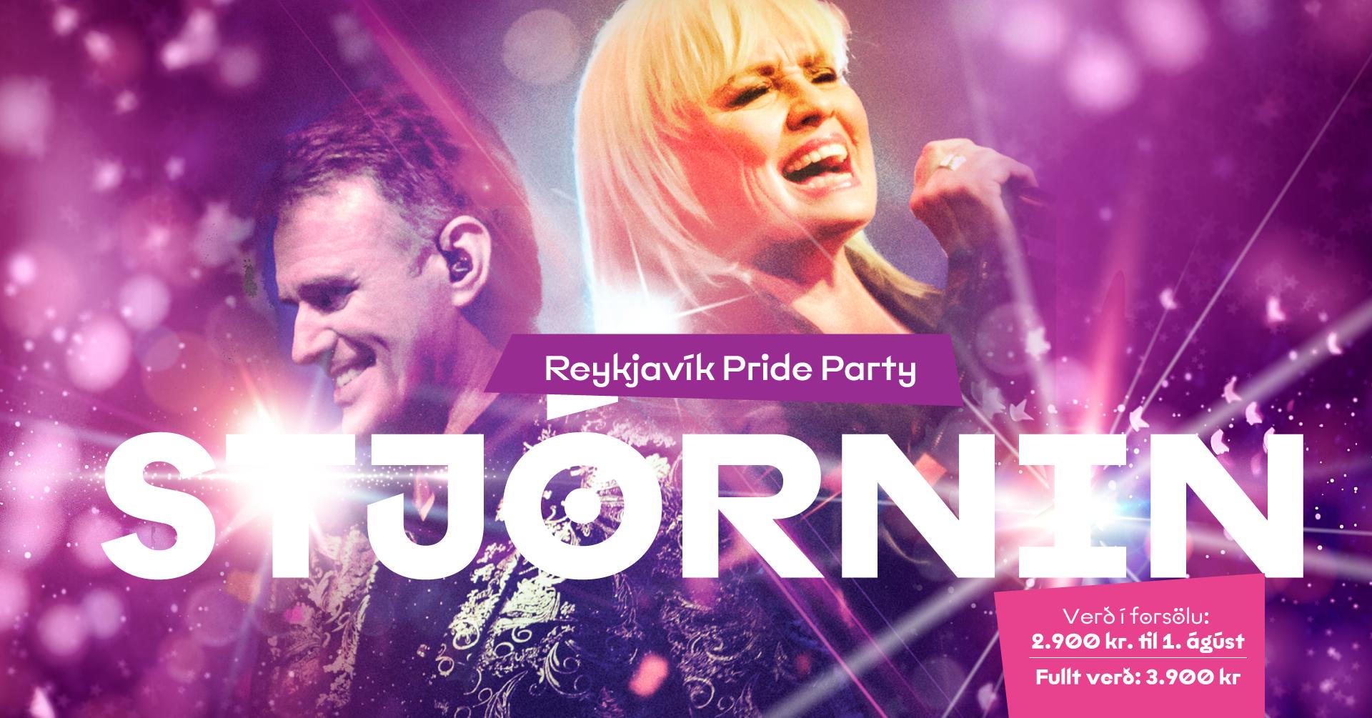 Reykjavík Pride Party – STJÓRNIN